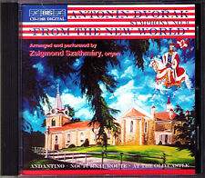 Zsigmond Szathmary: Dvorak Symphony No. 9 arr. Organe à CD from the New World