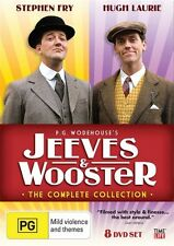 P.G. WODEHOUSE'S JEEVES & WOOSTER * THE COMPLETE COLLECTION * NEW SEALED DVD R4