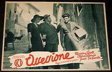 fotobusta originale OSSESSIONE Luchino Visconti Girotti Calamai 1943 #16