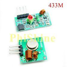 433m High Frequency super régénérative transmetteur module émetteur + récepteur