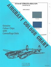 Aircraft Colour Chart: USAAF Photo Recon WWII    CC-13
