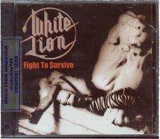 WHITE LION FIGHT TO SURVIVE + 7 BONUS TRACKS LIVE SEALED CD NEW