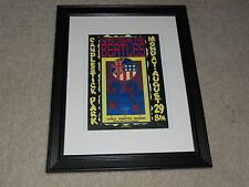 "Framed Beatles Candlestick Park, San Francisco Mini-Poster, RARE! 14""x17"""