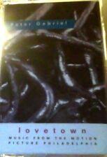 Peter Gabriel lovetown cassette single
