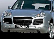 Porsche 955 Cayenne Turbo Strosek style lower add on Spoiler Air Dam
