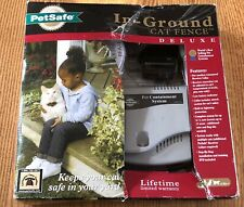 Petsafe PIG00-11007 Premium In-Ground Cat Fence New In Damaged Box!