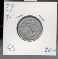 50 Reichspfennig 1939  F  . ab 5 auktionen portofrei