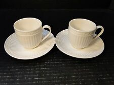 TWO Mikasa Italian Countryside Demitasse Cup Saucer Sets DD900 TWO Sets MINT!