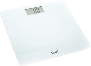 Ozeri Precision Digital Bath Scale 400 Lbs Edition, In Tempered Glass With White