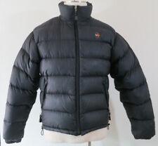 Moonstone black down puffer jacket winter coat sz men's Small
