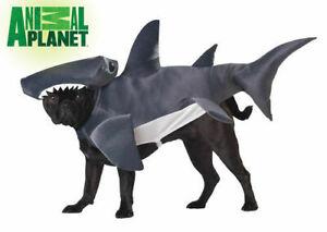 ANIMAL PLANET HAMMERHEAD SHARK DOG COSTUME VARIOUS SIZES BRAND NEW
