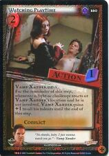 Buffy TVS CCG Limited Class Of 99 Premium Foil Card #220 Watching Playtime