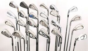 Lot of 24 Golf Single Mid-Irons Titleist Ping TaylorMade Wilson Callaway Nike
