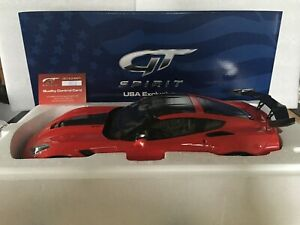 Rare Exclusivité USA ACME GT SPIRIT US018 Chevrolet Corvette C7 ZR1 2018 1/12