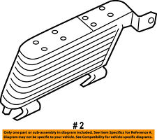 FORD OEM-Automatic Transmission Oil Cooler 6L2Z7A095A