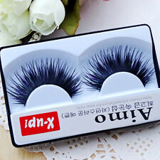 Natural Beauty false Eyelash lot black Fake Eyelash Soft long Makeup Eyelashes