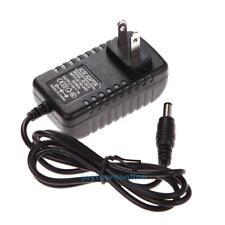 AC 100-240V Converter Adapter DC 5.5 x 2.5MM 9V 1A 1000mA Charger US Plug Black