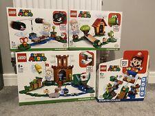 LEGO Super Mario Starter Set & Expansion Sets Bundle 71306, 71362, 71367, 71366