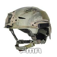 Camo Helmet Tactical Protective ABS A-TACS For Airsoft Paintball TB791 CS