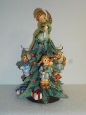 Rare Goebel Hummel Tis The Season 🎄Tree Ornament Display & 755/0 Heavenly Angel