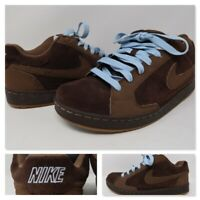 Nike Nyx Dylan Mens Skateboarding Brown Skate Trainers Shoes 330940-221 Size 9.5