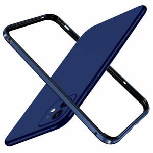 Aluminum Frame Metal Bumper Slim Hard Case Cover For iPhone 12 Pro Max 12 mini