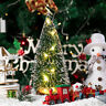 24Pcs Tabletop Christmas Pine Tree Xmas Mini Snow Tree Small Decoration Gift Vy