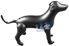 Inflatable Mannequin, Medium Dog, Black