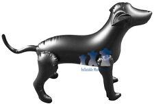 Inflatable Mannequin, Medium Dog, Black