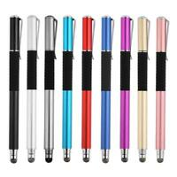 2 in 1 Capacitive Pen Touch Screen Drawing Pen Stylus for Smart Phone Tablet PC