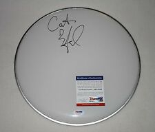 """CARTER BEAUFORD SIGNED AUTOGRAPHED 12"""" DRUMHEAD PSA/DNA AC15101 dave matthews"""
