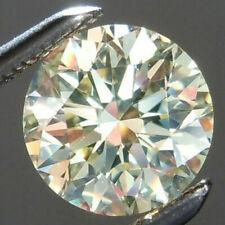 4.90 Carats 10.98MM VS1 WHITE J MOISSANITE Sub to DIAMOND for RING Round BIG