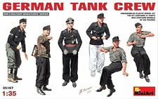 1:35 MiniArt 35167 - German Tank Crew. - 6 Figure Set  Model Kit