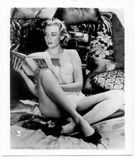 Vintage 1950s Black/White Pinup Photo     NUDE
