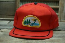 Vintage Country Club Golf Mesh Snapback Trucker Cap Hat Made In Korea