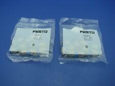 Festo Pneumatic Fitting QSM-M5-6-I (Lot of 20)  153317 NEW