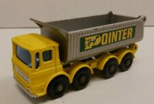 1969 Pointer Lesney Matchbox Series No.51 8 Wheel Tipper Diecast 021120DBT2