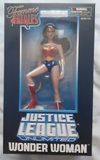 WONDER WOMAN JUSTICE LEAGUE UNLIMATED ANIMATED PVC STATUE