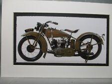 1929  Harley Davidson Model   DL    in  color Motorcycle Archives