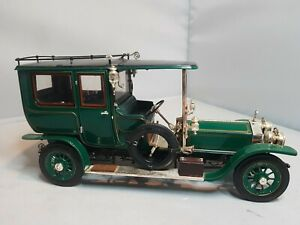 Franklin mint 1:24 scale diecast 1907 silver ghost in Original packaging see pic