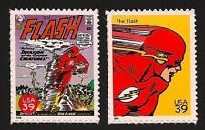 The Flash #111 Fastest Man Alive Grant Gustin TV Series Superhero US Stamps MINT