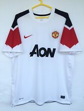 MANCHESTER UNITED 2010 2011 NIKE AWAY FOOTBALL SOCCER SHIRT JERSEY PLAYER ISSUE