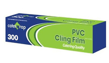 Caterwrap Cling film Cutterbox 30cm x 300m PVC Catering Quality Clingfilm