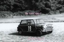 Paddy Hopkirk Mini Cooper S AJB 44B Tour de France Rally 1964 Photograph 1