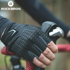 New Rockbros Touch Screen Bicycle Cycling Gloves Spring Autumn Bike Gloves Shock