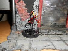 CUSTOM Heroclix LADY DEADPOOL Figure Miniature Female Girl Painted
