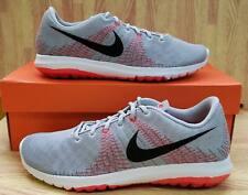 Girls Nike Flex Fury (GS) 705459-003 Wolf Grey/Black NEW Size 6.5Y