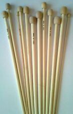 Beige Single Point Knitting Needles