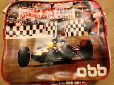 OLD FORMULA 1 RACING CARS GRAND PRIX VINTAGE RETRO OBB SHOULDER CROSS BODY BAG