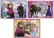 Disney Frozen Trio Jigsaw Puzzle (3 x 50 Pieces) - Brand New Children's Puzzles